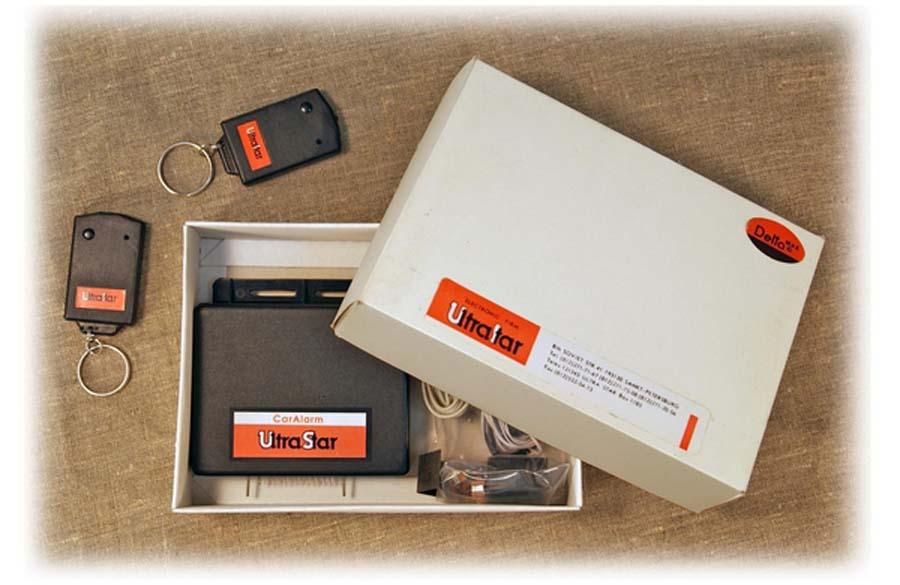 состав сигнализации ультрастар - коробка и что внутри