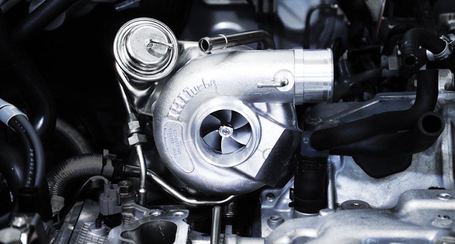 Устройство турбины турбированного двигателя