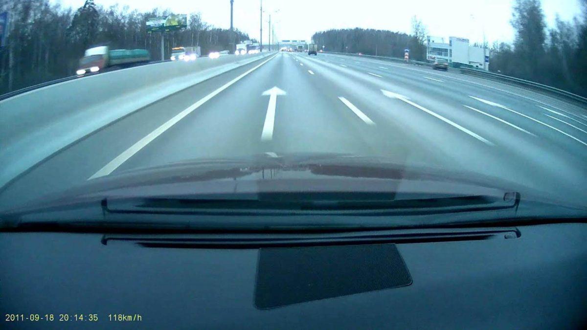 Съемка днем на видеорегистратор Blackvue DR400G HD