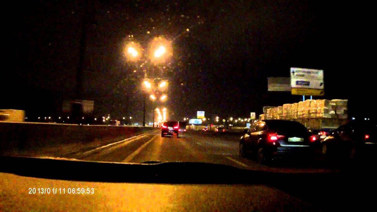 Ночная съемка на видеорегистратор Treelogic TL-DVR 2401T Slim