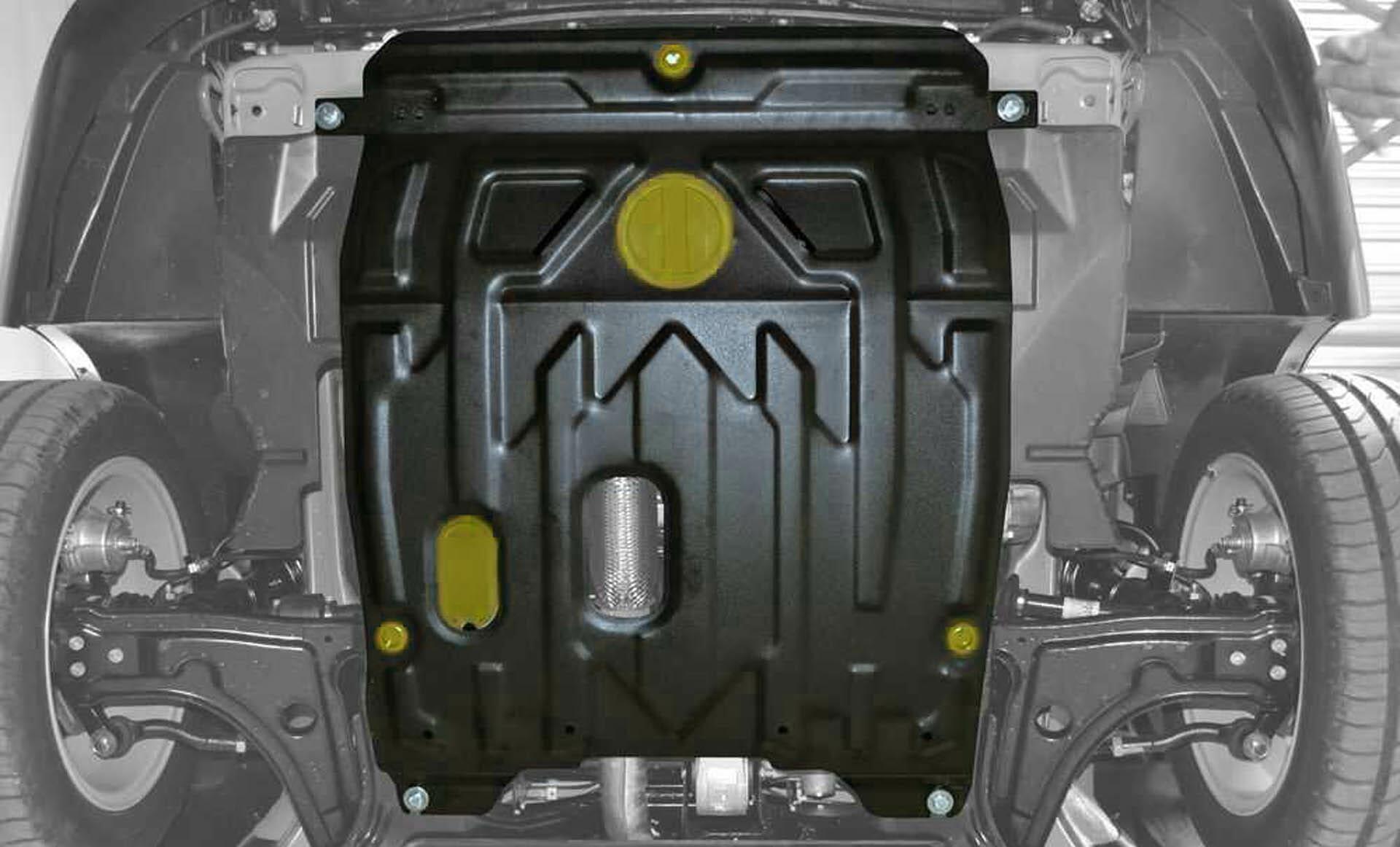 Защита картера двигателя: на что обратить внимание при выборе