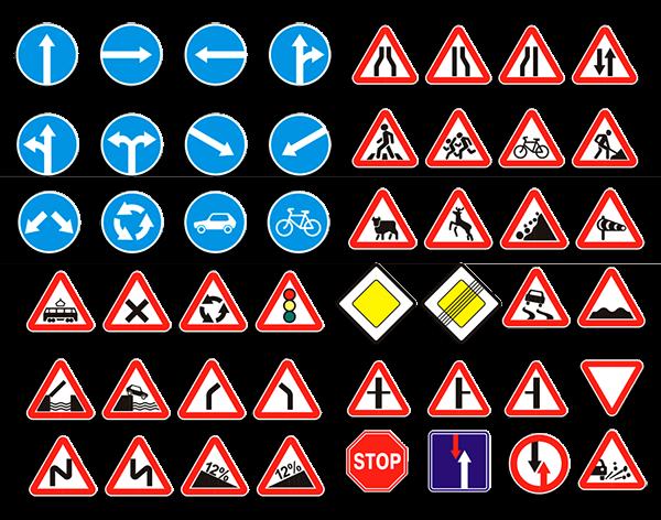 дорожные знаки которые отменяются сигналами светофора